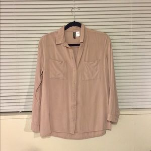 Women's Divided Button-Down